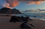 sunset, beach, rugged, twilight, coast, ocean, atlantic, stone, wild, cliff, 2012, portugal , Portugal , Dave Derbis