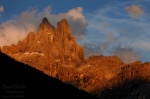 alpenglow, mountain, sunset, rugged, pale di san martino, san martino, dolomites, italy, 2011 , Dolomites, Italy , Dave Derbis