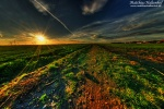 sunset, wideangle , East Germany , Matthias Haltenhof , East Germany , Matthias Haltenhof