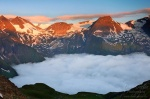 sunrise, alpes, mountain, twilight, clouds, alpen, hohe tauern, austria , Alps (Germany, Austria, Switzerland) , Dave Derbis