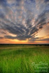 amazing, striking, sunset, light, soft, field, clouds, sky , East Germany , Dave Derbis