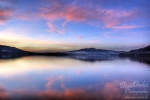 amazing, striking, sunset, light, soft, lake, see, mondsee, clouds, sky, colour, pink, austria, österreich , Alps , Dave Derbis