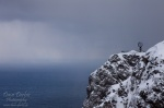 norway, cliff, coast, cape, north, storm, hurtigruten , Norway , Dave Derbis